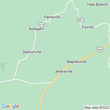 Jetersville,va- map, population, zip codes, coutnies, area codes, time zones, households, income, news, weather, metro areas, local time at localistica.com