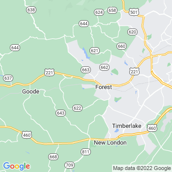 Forest,va- map, population, zip codes, coutnies, area codes, time zones, households, income, news, weather, metro areas, local time at localistica.com
