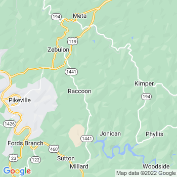 Raccoon,ky- map, population, zip codes, coutnies, area codes, time zones, households, income, news, weather, metro areas, local time at localistica.com