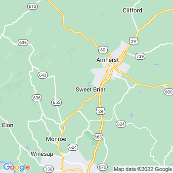 Sweet Briar,va- map, population, zip codes, coutnies, area codes, time zones, households, income, news, weather, metro areas, local time at localistica.com