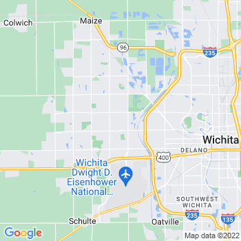 Wichita,ks- map, population, zip codes, coutnies, area codes, time zones, households, income, news, weather, metro areas, local time at localistica.com