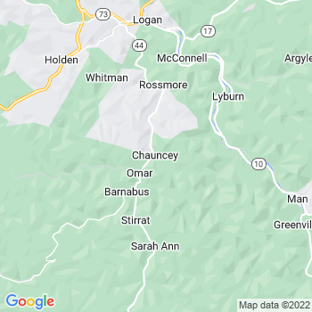 Chauncey,wv- map, population, zip codes, coutnies, area codes, time zones, households, income, news, weather, metro areas, local time at localistica.com