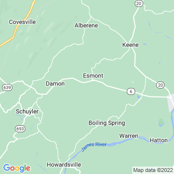 Esmont,va- map, population, zip codes, coutnies, area codes, time zones, households, income, news, weather, metro areas, local time at localistica.com