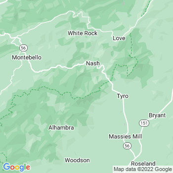 Tyro,va- map, population, zip codes, coutnies, area codes, time zones, households, income, news, weather, metro areas, local time at localistica.com
