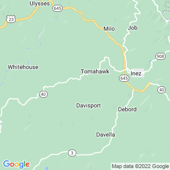 Tomahawk,ky- map, population, zip codes, coutnies, area codes, time zones, households, income, news, weather, metro areas, local time at localistica.com