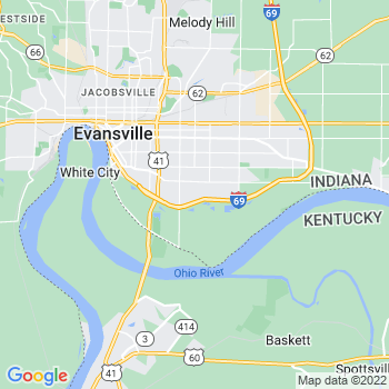 Evansville,in- map, population, zip codes, coutnies, area codes, time zones, households, income, news, weather, metro areas, local time at localistica.com