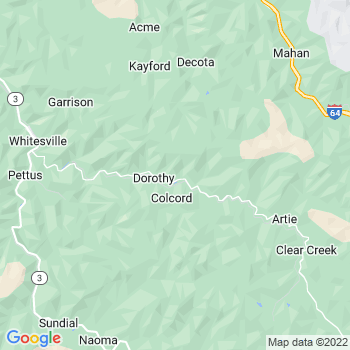 Colcord,wv- map, population, zip codes, coutnies, area codes, time zones, households, income, news, weather, metro areas, local time at localistica.com