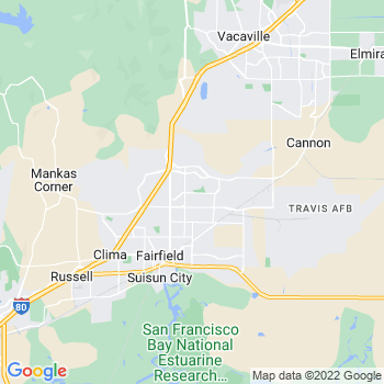 Fairfield,ca- map, population, zip codes, coutnies, area codes, time zones, households, income, news, weather, metro areas, local time at localistica.com