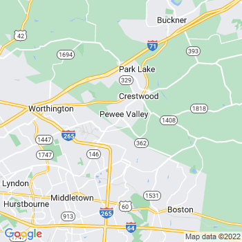 Pewee Valley,ky- map, population, zip codes, coutnies, area codes, time zones, households, income, news, weather, metro areas, local time at localistica.com