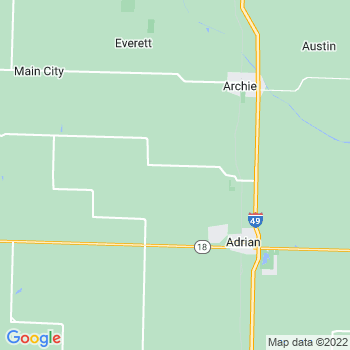 Adrian,mo- map, population, zip codes, coutnies, area codes, time zones, households, income, news, weather, metro areas, local time at localistica.com