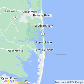 Fenwick Island,de- map, population, zip codes, coutnies, area codes, time zones, households, income, news, weather, metro areas, local time at localistica.com