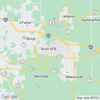 Scott Air Force Base,il- map, population, zip codes, coutnies, area codes, time zones, households, income, news, weather, metro areas, local time at localistica.com