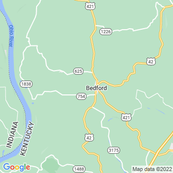 Bedford,ky- map, population, zip codes, coutnies, area codes, time zones, households, income, news, weather, metro areas, local time at localistica.com