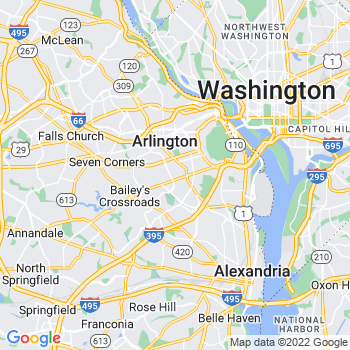 Arlington,va- map, population, zip codes, coutnies, area codes, time zones, households, income, news, weather, metro areas, local time at localistica.com