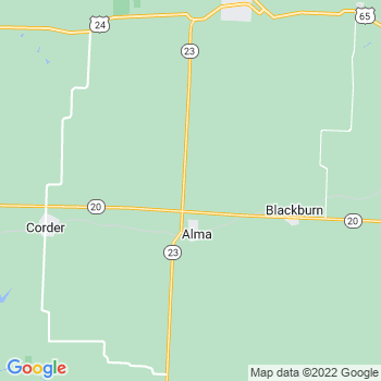 Alma,mo- map, population, zip codes, coutnies, area codes, time zones, households, income, news, weather, metro areas, local time at localistica.com