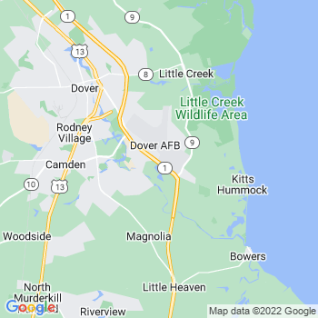 Dover Afb,de- map, population, zip codes, coutnies, area codes, time zones, households, income, news, weather, metro areas, local time at localistica.com