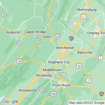 Winchester, VA WV- map, population, zip codes, coutnies, area codes, time zones, households, income, news, weather, metro areas, local time at localistica.com