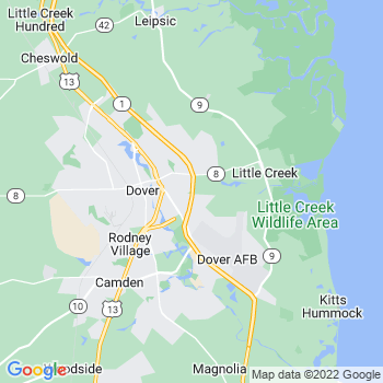 Dover,de- map, population, zip codes, coutnies, area codes, time zones, households, income, news, weather, metro areas, local time at localistica.com
