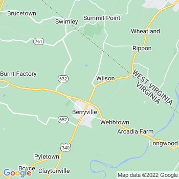 Berryville,va- map, population, zip codes, coutnies, area codes, time zones, households, income, news, weather, metro areas, local time at localistica.com