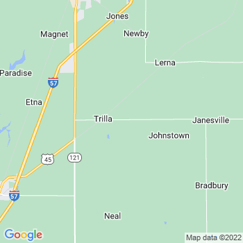 Trilla,il- map, population, zip codes, coutnies, area codes, time zones, households, income, news, weather, metro areas, local time at localistica.com
