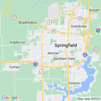 Springfield,il- map, population, zip codes, coutnies, area codes, time zones, households, income, news, weather, metro areas, local time at localistica.com