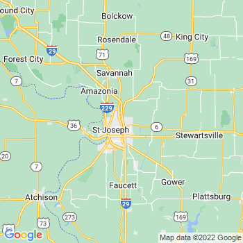 St. Joseph, MO KS- map, population, zip codes, coutnies, area codes, time zones, households, income, news, weather, metro areas, local time at localistica.com
