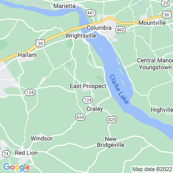 East Prospect,pa- map, population, zip codes, coutnies, area codes, time zones, households, income, news, weather, metro areas, local time at localistica.com