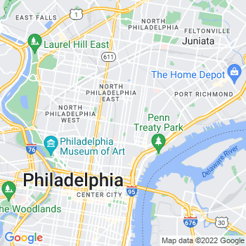 19122 Philadelphia,PA- map, population, zip codes, coutnies, area codes, time zones, households, income, news, weather, metro areas, local time at localistica.com
