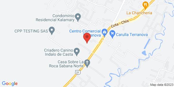 Km 2 vía Chía Cota Centro Comercial Terranova