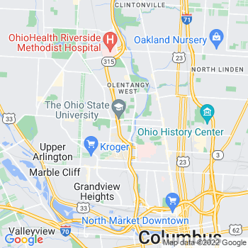 43210 Columbus,OH- map, population, zip codes, coutnies, area codes, time zones, households, income, news, weather, metro areas, local time at localistica.com