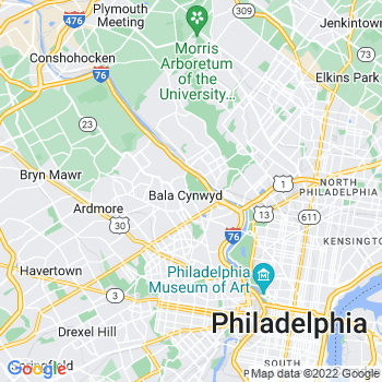 Bala Cynwyd,pa- map, population, zip codes, coutnies, area codes, time zones, households, income, news, weather, metro areas, local time at localistica.com