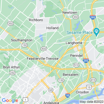 Feasterville Trevose,pa- map, population, zip codes, coutnies, area codes, time zones, households, income, news, weather, metro areas, local time at localistica.com