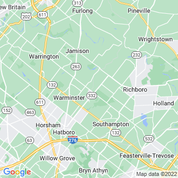 Warminster,pa- map, population, zip codes, coutnies, area codes, time zones, households, income, news, weather, metro areas, local time at localistica.com