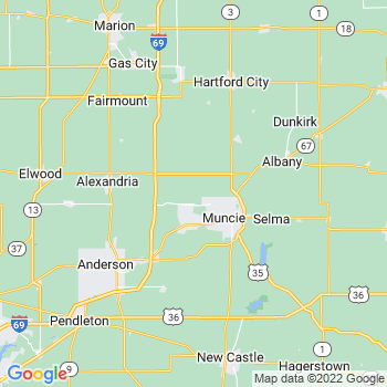 Muncie, IN- map, population, zip codes, coutnies, area codes, time zones, households, income, news, weather, metro areas, local time at localistica.com