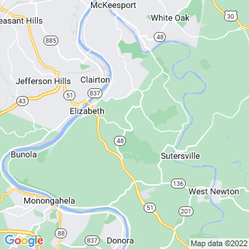 Elizabeth,pa- map, population, zip codes, coutnies, area codes, time zones, households, income, news, weather, metro areas, local time at localistica.com