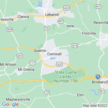 Cornwall,pa- map, population, zip codes, coutnies, area codes, time zones, households, income, news, weather, metro areas, local time at localistica.com