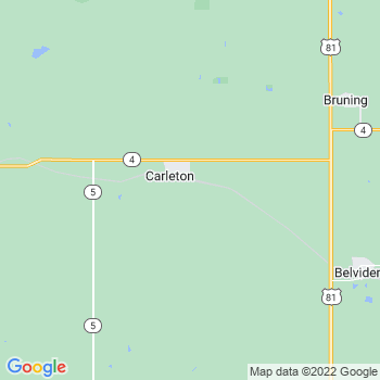 Carleton,ne- map, population, zip codes, coutnies, area codes, time zones, households, income, news, weather, metro areas, local time at localistica.com