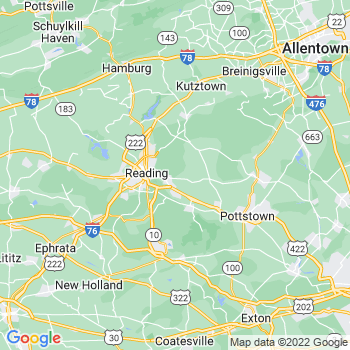 Reading, PA- map, population, zip codes, coutnies, area codes, time zones, households, income, news, weather, metro areas, local time at localistica.com