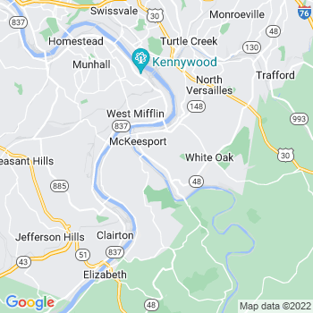 Mckeesport,pa- map, population, zip codes, coutnies, area codes, time zones, households, income, news, weather, metro areas, local time at localistica.com