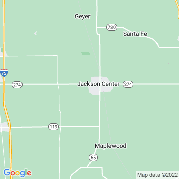 Jackson Center,oh- map, population, zip codes, coutnies, area codes, time zones, households, income, news, weather, metro areas, local time at localistica.com
