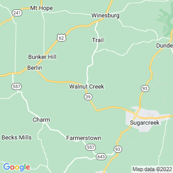 Walnut Creek,oh- map, population, zip codes, coutnies, area codes, time zones, households, income, news, weather, metro areas, local time at localistica.com