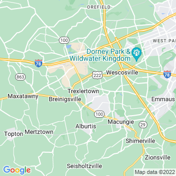 Trexlertown,pa- map, population, zip codes, coutnies, area codes, time zones, households, income, news, weather, metro areas, local time at localistica.com