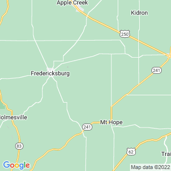 Fredericksburg,oh- map, population, zip codes, coutnies, area codes, time zones, households, income, news, weather, metro areas, local time at localistica.com