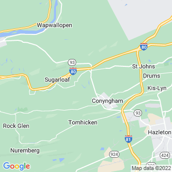 Sybertsville,pa- map, population, zip codes, coutnies, area codes, time zones, households, income, news, weather, metro areas, local time at localistica.com