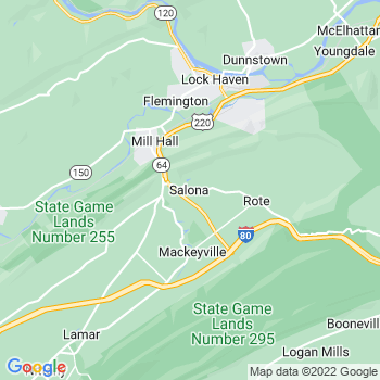 Salona,pa- map, population, zip codes, coutnies, area codes, time zones, households, income, news, weather, metro areas, local time at localistica.com