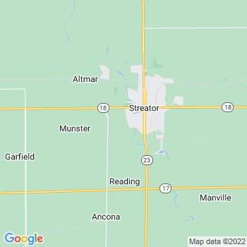 Streator,il- map, population, zip codes, coutnies, area codes, time zones, households, income, news, weather, metro areas, local time at localistica.com