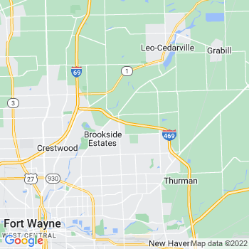 Fort Wayne,in- map, population, zip codes, coutnies, area codes, time zones, households, income, news, weather, metro areas, local time at localistica.com