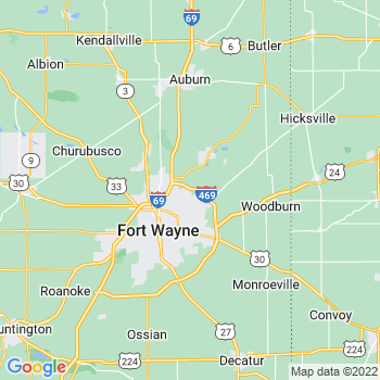 Fort Wayne, IN- map, population, zip codes, coutnies, area codes, time zones, households, income, news, weather, metro areas, local time at localistica.com