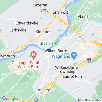 18773 Wilkes Barre,PA- map, population, zip codes, coutnies, area codes, time zones, households, income, news, weather, metro areas, local time at localistica.com