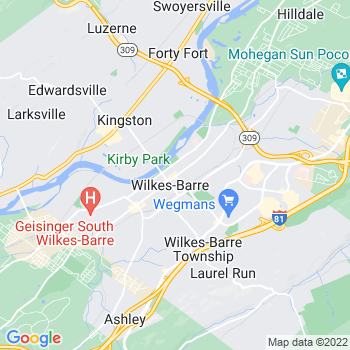 18766 Wilkes Barre,PA- map, population, zip codes, coutnies, area codes, time zones, households, income, news, weather, metro areas, local time at localistica.com